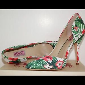Dolce by Mojo Moxy Floral Printed Heels sz. 10